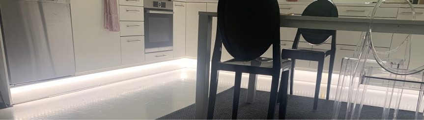 LED-nauha keittiön kaappeihin, osa2