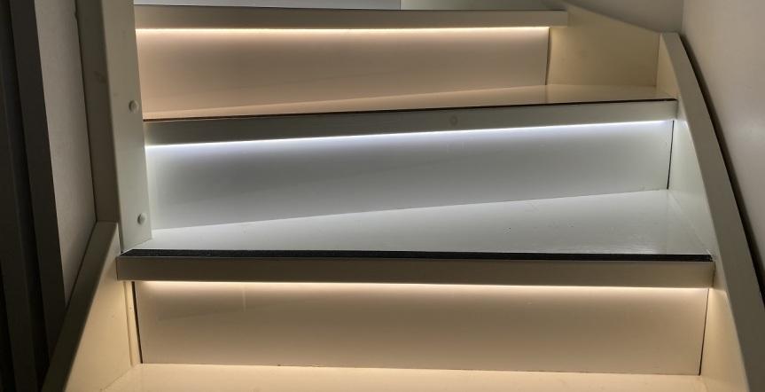 Led-nauha portaisiin – osa3